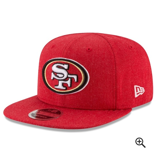 d0397739a7f I NFL San Francisco 49ers Red SnapBack Kids hat NW